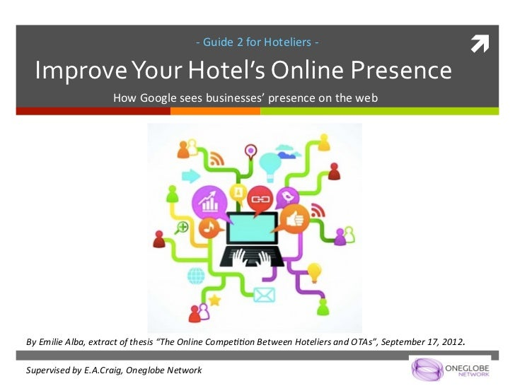 Guide 2 for Hoteliers - Improve Your Hotel's Online Presence
