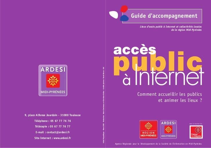 Accès public à Internet : comment accueillir les publics et animer les lieux ?