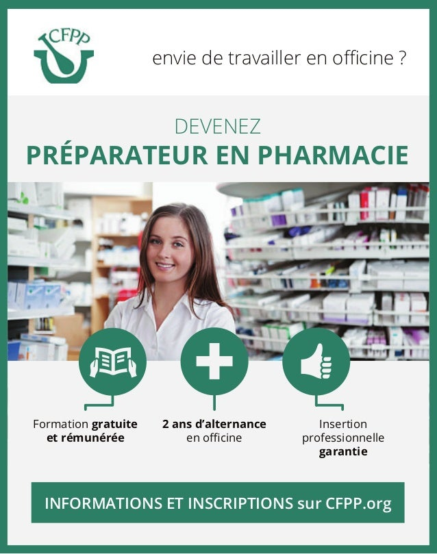 modele cv preparateur en pharmacie