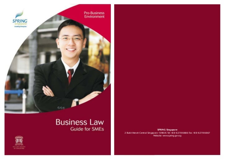 Guide book business law guide for sm es