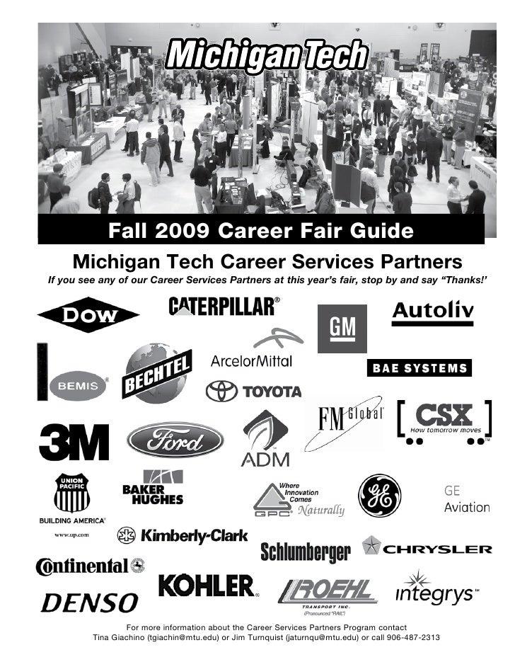 Fall 2009 Career Fair Guidebook