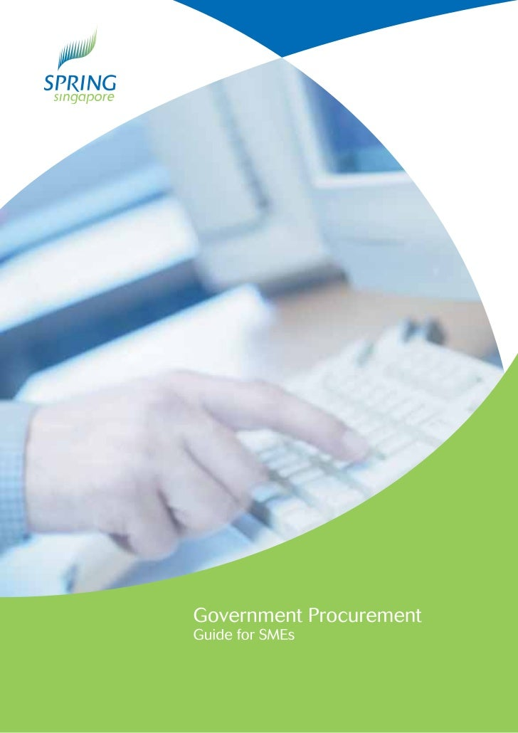 This guide serves to help you better understand Government Procurement (GP)rules so that you can take part and bid for bus...