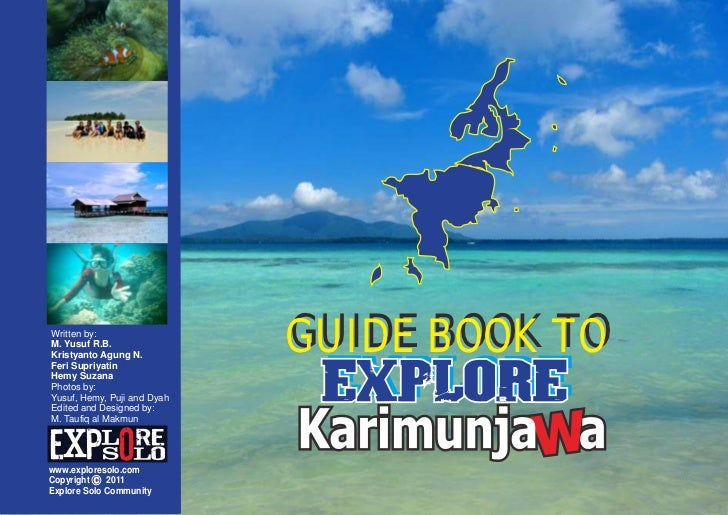 Guide booktoexplorekarimunjawa