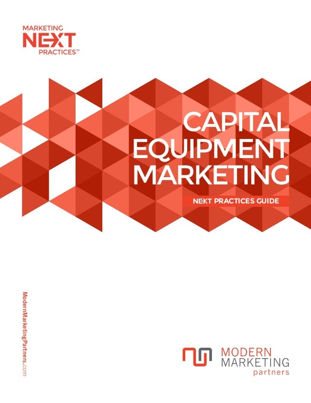 Guide to Marketing Capital Equipment