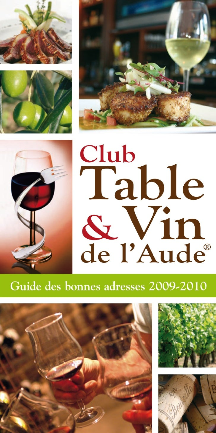 Table                       Club                         & Vin     L                       de l'Aude           ®          ...