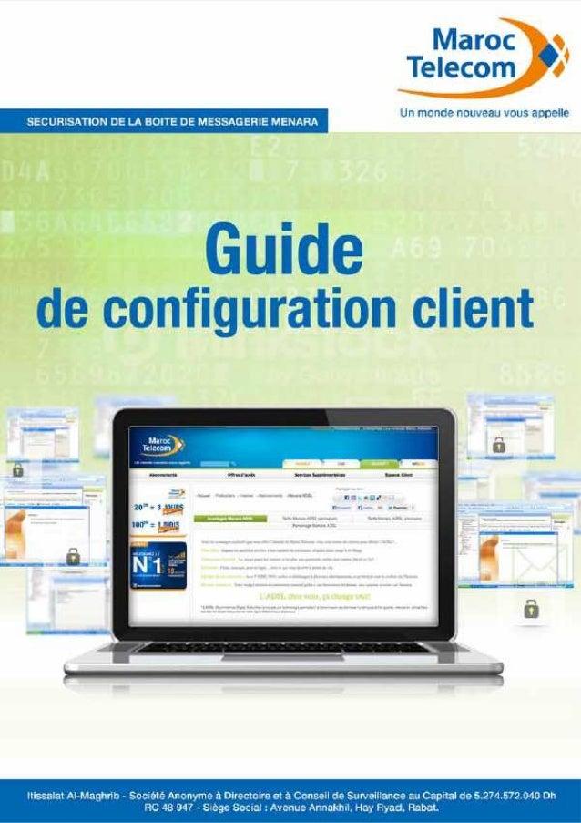 Menara: Guide de configuration messagerie