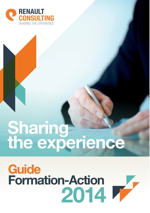 Sharing the experience Guide Formation-Action  2014