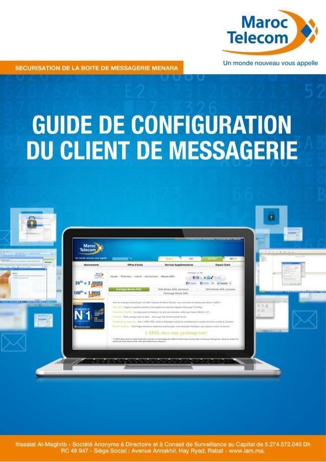 Guide paramétrage client messagerie internet Maroc Telecom