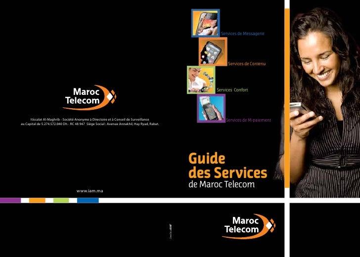 Guide des services de Maroc Telecom