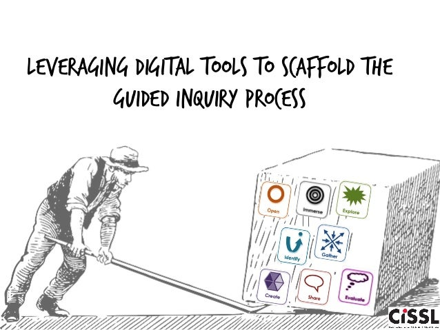leveraging digital tools to scaffold the guided inquiry process