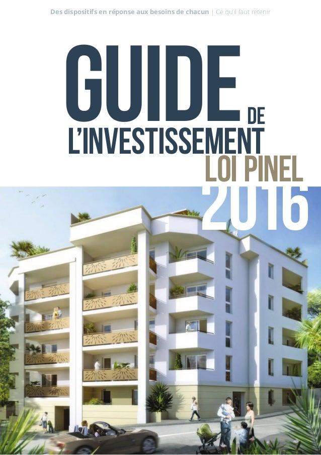 Guide de l'investissement  Comment réussir votre investissement locatif ?  Découvrez les  clés pour bien investir :  La re...
