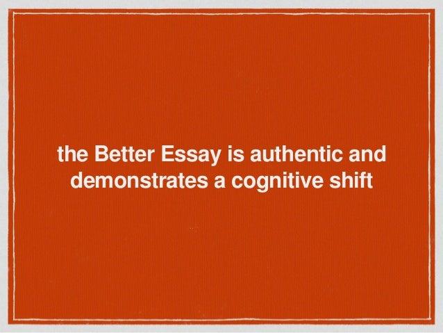 Collage essays