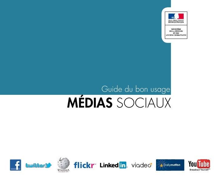 Guide du bon usagemédias sociaux