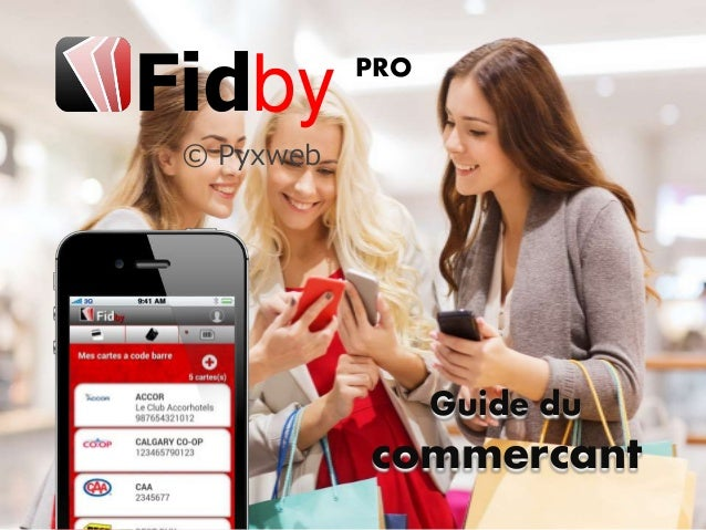 © Pyxweb Guide du commercant Fidby PRO