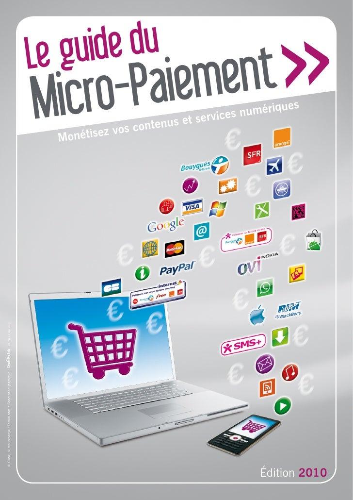 Guide du micro-paiement 2010 - AFMM