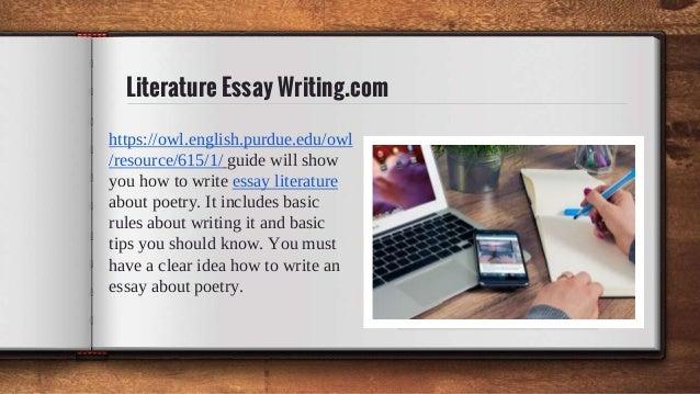 Buy literature essay