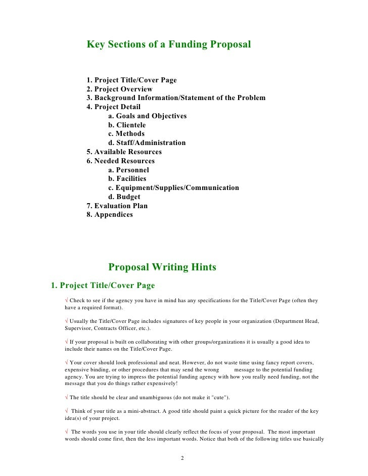 Community service project proposal essay