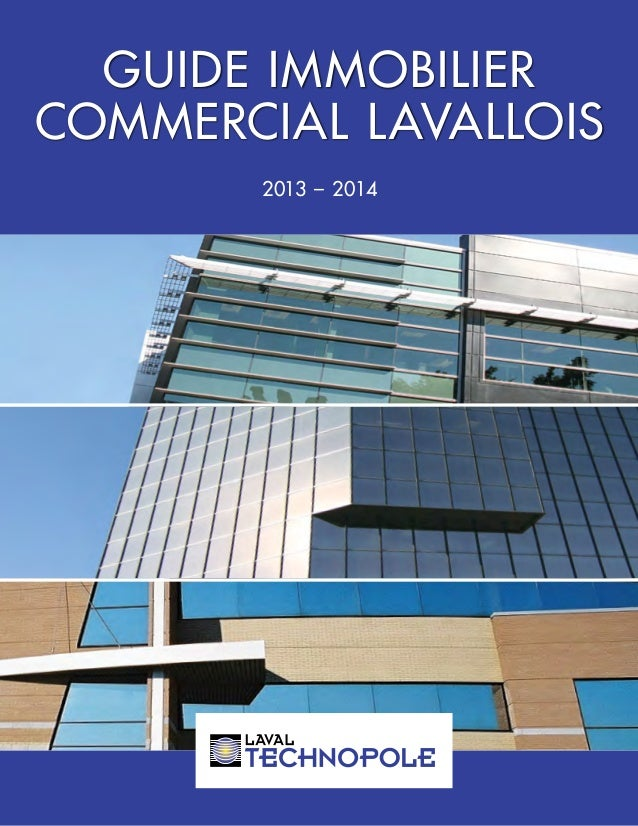 GUIDE IMMOBILIER COMMERCIAL LAVALLOIS 2013 – 2014