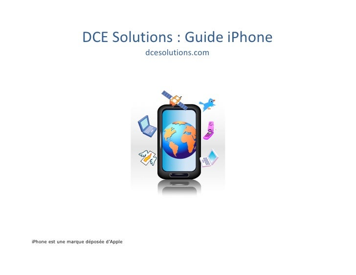 DCE  Solutions  :  Guide  iPhone                                           dcesolutions.com                  ...