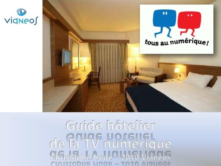 Guide iptv de l'hotellerie