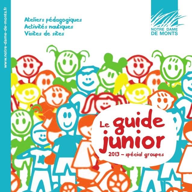 www.notre-dame-de-monts.fr                             Ateliers pédagogiques                             Activités nautiqu...