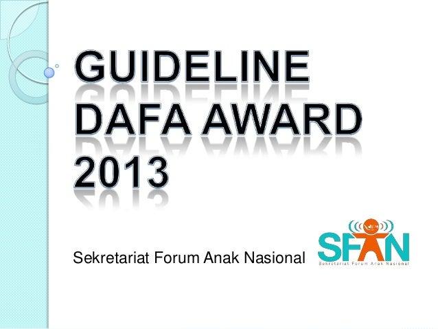 Sekretariat Forum Anak Nasional