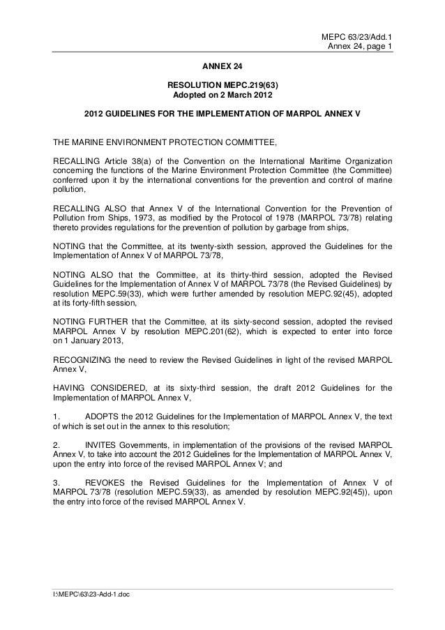 MEPC 63/23/Add.1                                                                         Annex 24, page 1                 ...