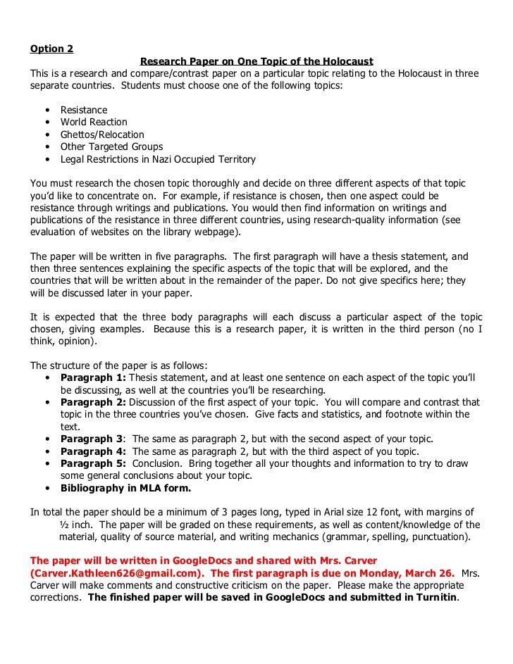 thesis statement holocaust A lesson plans page lesson plan, lesson idea, thematic unit, or activity in language arts and social studies called writing about the holocaust, thesis.