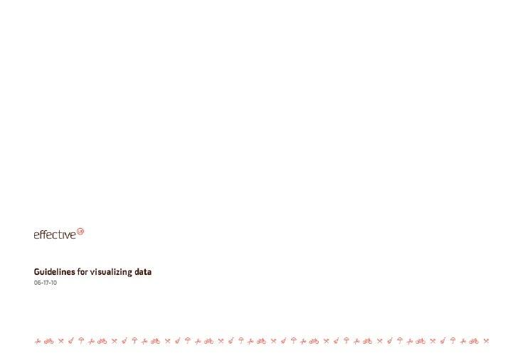 Guidelines for Visualizing Data