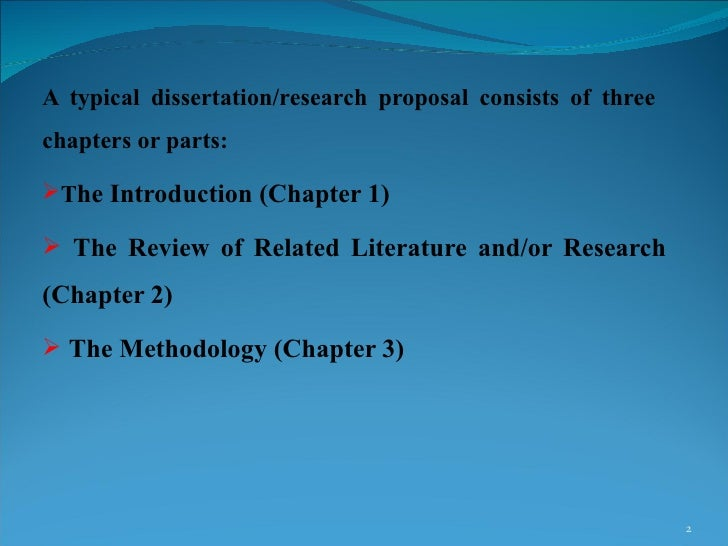 dissertations research proposal Literature leads to and provides a theoretical motivation for the dissertation research agenda so you have to write a dissertation proposal.