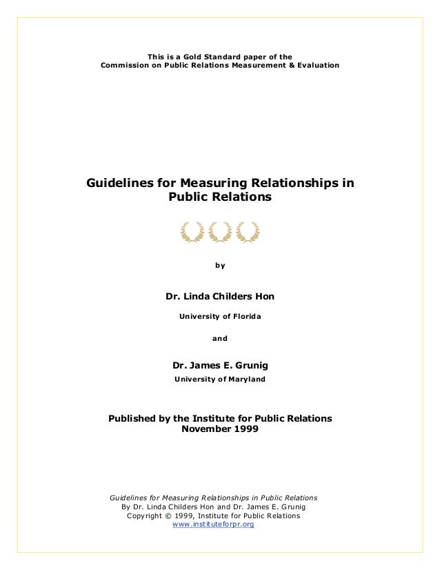 Guidelines measuring relationships[1]