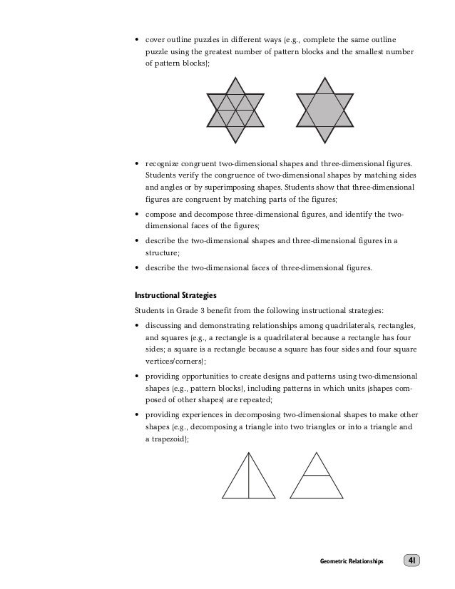 3d shapes guide to effective instruction math
