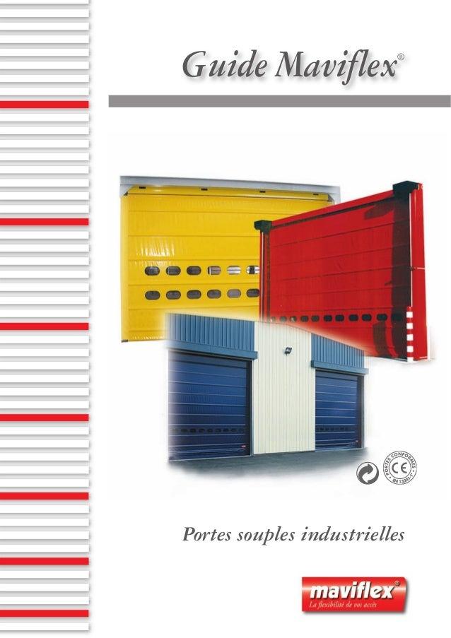 Guide Maviflex®Portes souples industrielles
