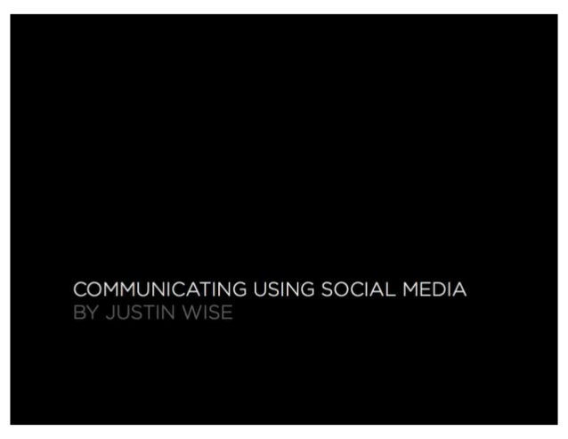 GuideOne Justin Wise Social Media for Churches Presentation