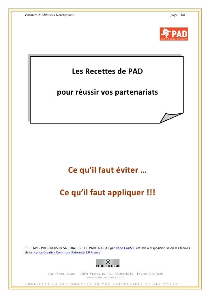 Partners & Alliances Development                                                                          page 1/6        ...