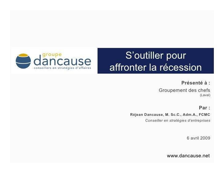 Guide Pour Affronter La Récession