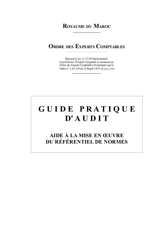 Guide pratique de l'audit   oec maroc