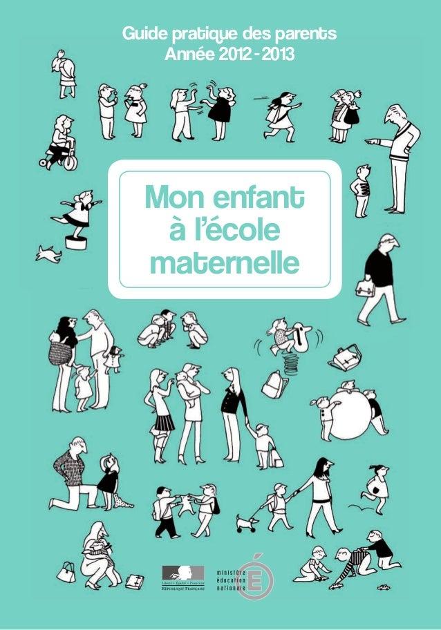 Guide pratique des Parents École Maternelle