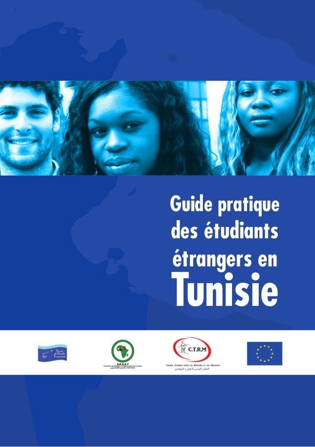 Guide pratique des étudiants étrangers en Tunisie