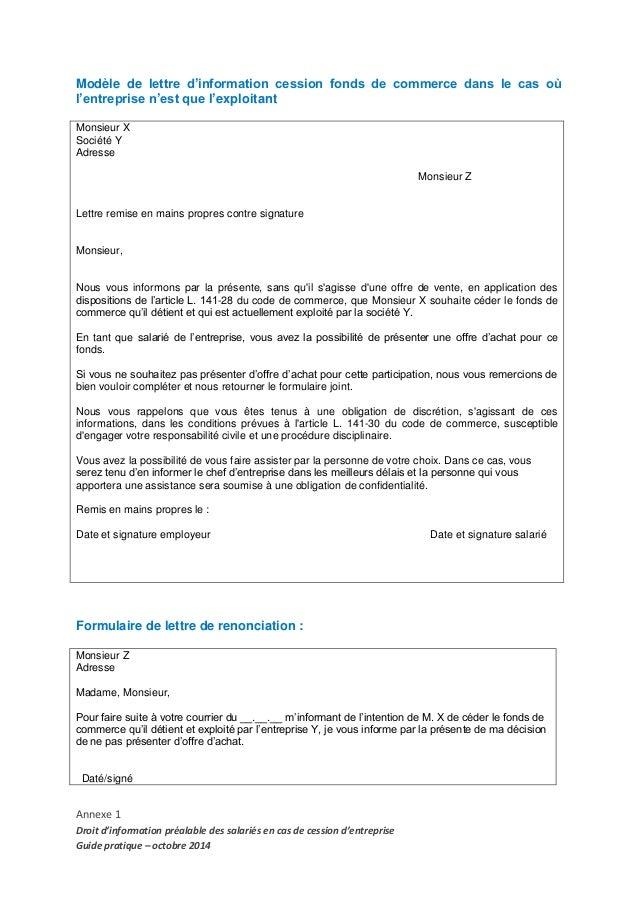 Exemple lettre d 39 information entreprise images for Service aux entreprises exemple