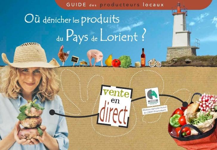 guide   des   producteurs locauxOù dénicher les produits        du   Pays    de      orient ?                           ve...