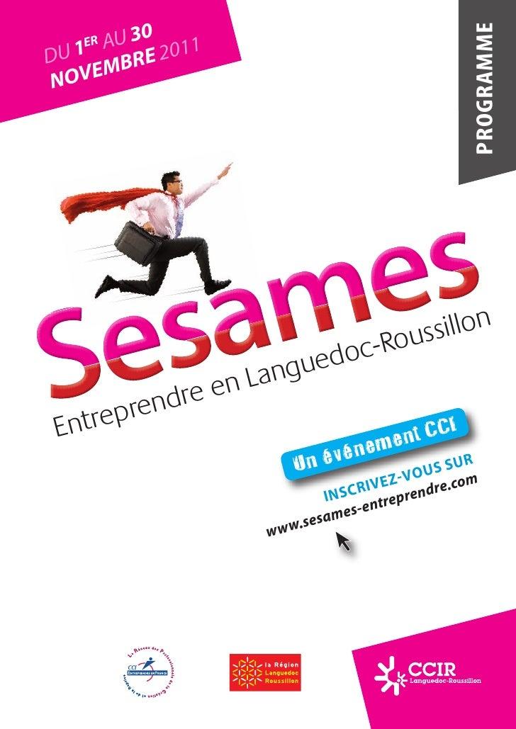 Programme #Sésames 2011