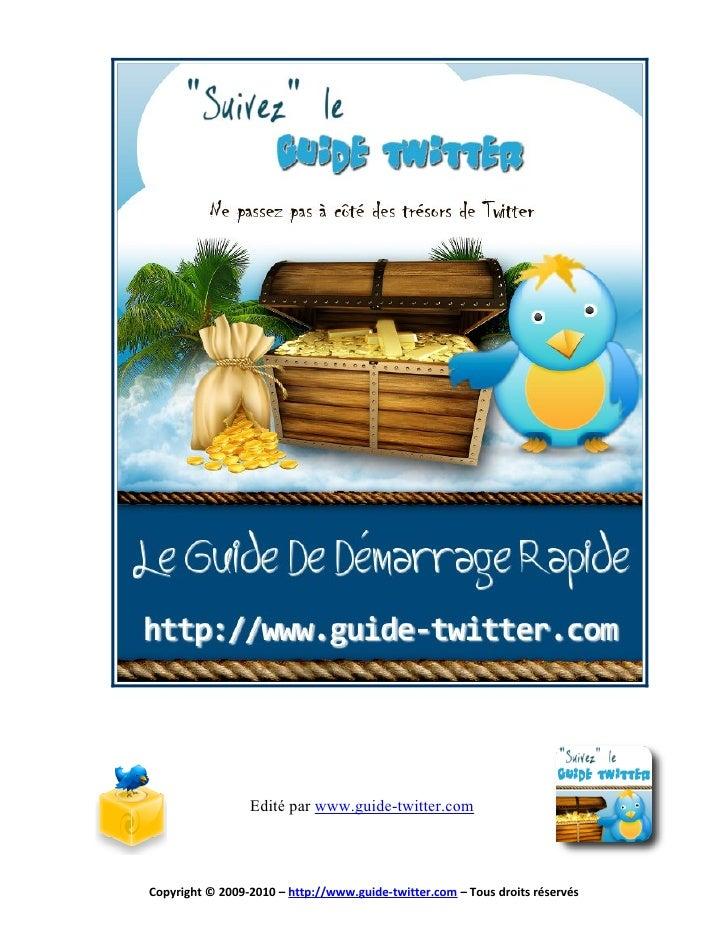 Guide en Français de Twitter
