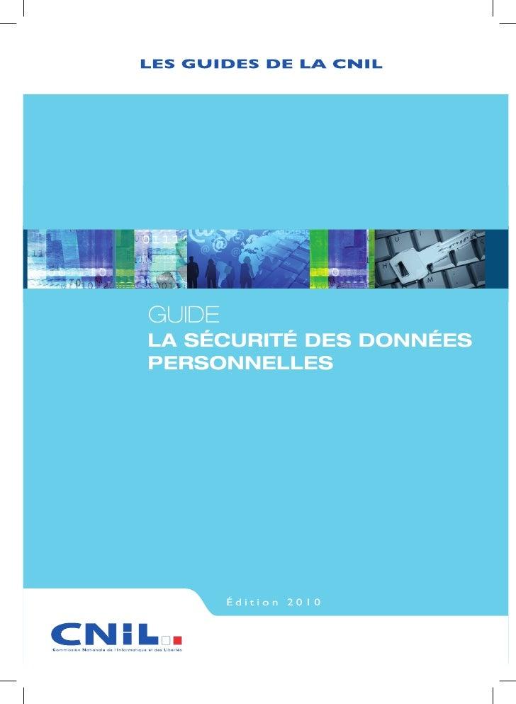Guide securite vd cnil