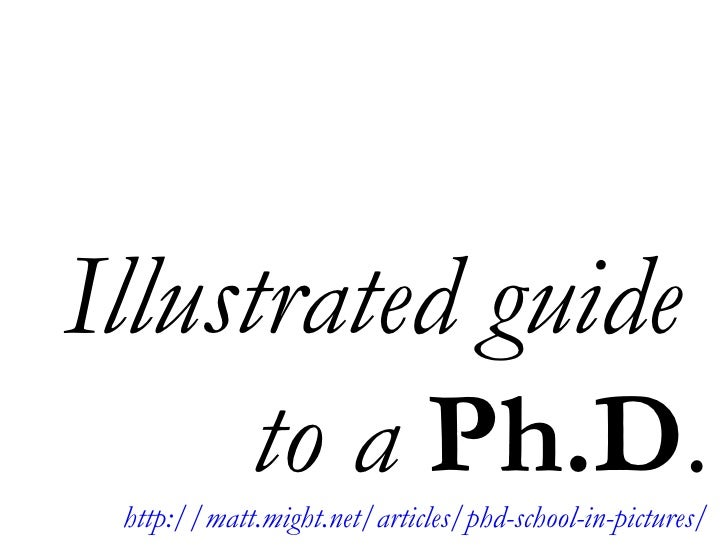 Guide to a Ph D
