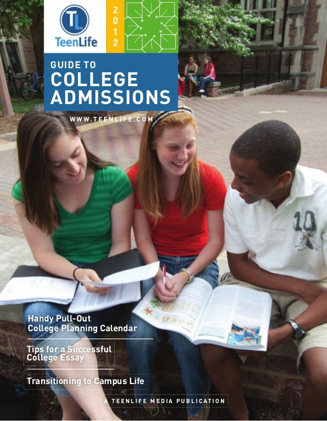 TeenLife 2012 Guide to College Admissions