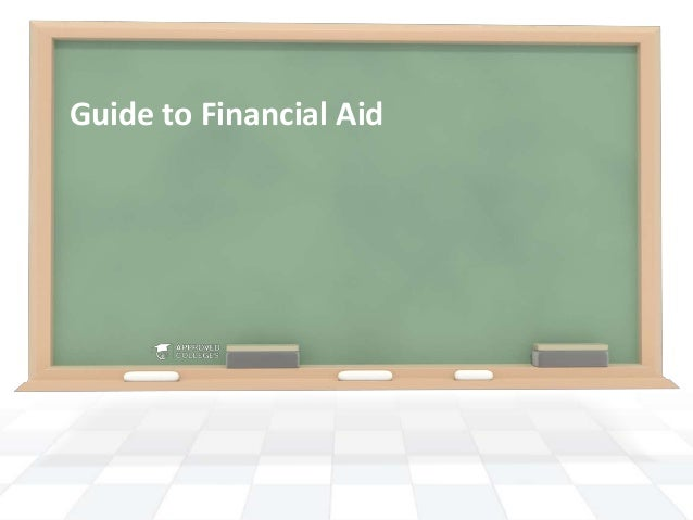 Guide to Financial Aid