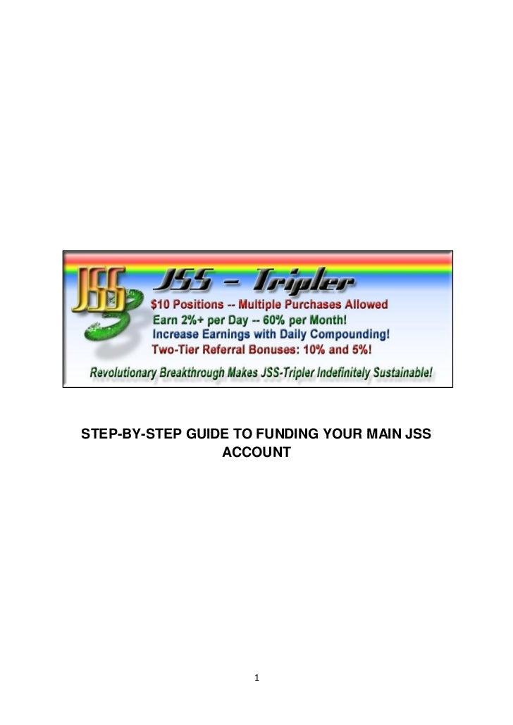 Guide tofundingyourjssaccount