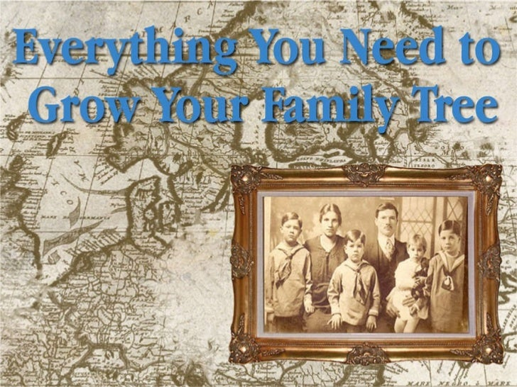 Guide to Genealogy  - Grow Your Family Tree
