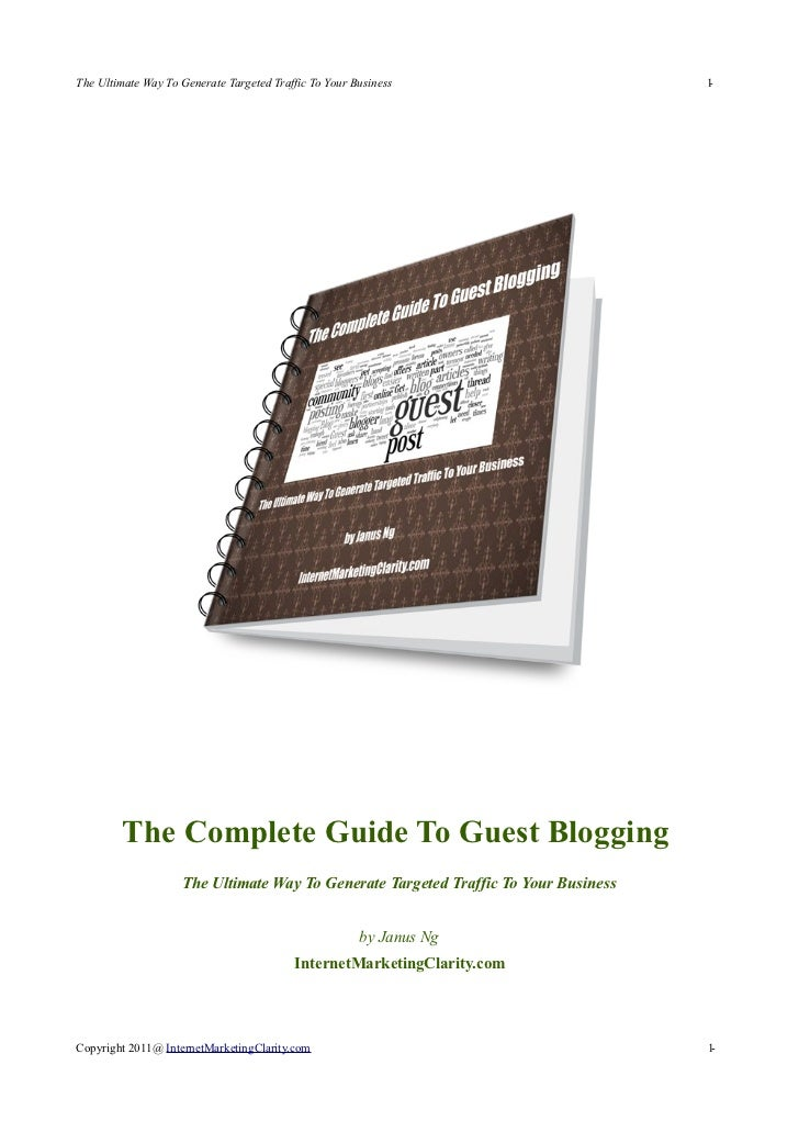 The Complete Guide to Guest Posting